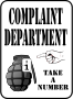 Complaint Department (Daily Sketch 49)