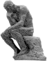The Thinker Grayscale