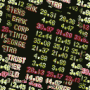 Stock Market Ticker Pixelized Thumbnail