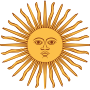 Animation of Sol de Mayo-Bandera de Argentina