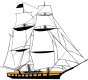 Sailing Ship White