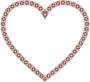 Floral Border Heart