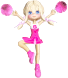 Cartoon Cheerleader