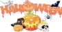 Halloween Decorations Background Thumbnail