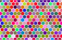 Colorful Hex Grid Pattern 3