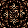 Decorative Floral Design Enhanced 13
