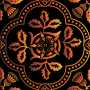 Decorative Floral Design Enhanced 16