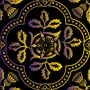 Decorative Floral Design Enhanced 19