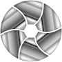 Metallic Shutter Icon Enhanced 2