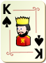 Ornamental deck: King of spades