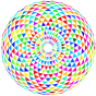 Colorful Toroid Mandala 2