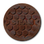 Steam Manhole Cover