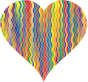 Colorful Wavy Heart 4
