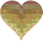 Colorful Wavy Heart 11