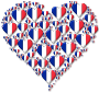 Heart France Fractal Enhanced