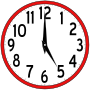 Scripted Analog Clock