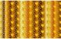Seamless Gold Heart Pattern 3