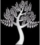 Simple Silver Tree
