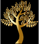 Simple Gold Tree