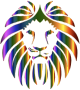 Prismatic Lion No Background