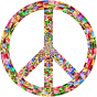 Prismatic Peace Sign 5