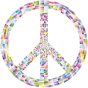 Prismatic Peace Sign 8