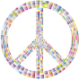 Prismatic Peace Sign 9