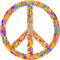 Prismatic Peace Sign 10