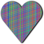 Patterned heart 4
