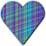 Patterned heart 6
