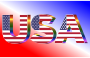 USA Flag Typography Prismatic