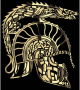 Children Of Hurin Dragon Helm Brass