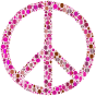 Colorful Circles Peace Sign 11
