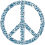 Colorful Circles Peace Sign 20 Without Background