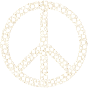 Colorful Circles Peace Sign 26 Without Background