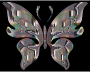 Prismatic Butterfly 15 Variation 2