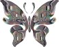 Prismatic Butterfly 15 Variation 2 No Background Thumbnail