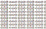 Seamless Chromatic Ornamental Divider Pattern