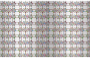 Seamless Chromatic Ornamental Divider Pattern With Background