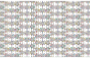 Seamless Chromatic Ornamental Divider Pattern 3