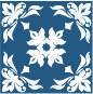 Floral Flourish Tile
