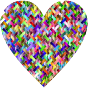 Colorful Heart Lattice Weave 2