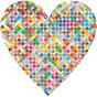 Colorful Heart Lattice Weave 3