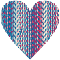 Colorful Heart Lattice Weave 7