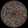 Prismatic Segmented Circle 4 Variation 2