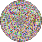 Prismatic Segmented Circle 4 Variation 2 No Background