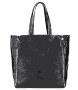 Black tote bag no logo