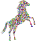 Chromatic Triangular Wild Horse