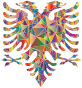 Polyprismatic Low Poly Double Headed Eagle