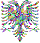 Prismatic Scales Double Headed Eagle